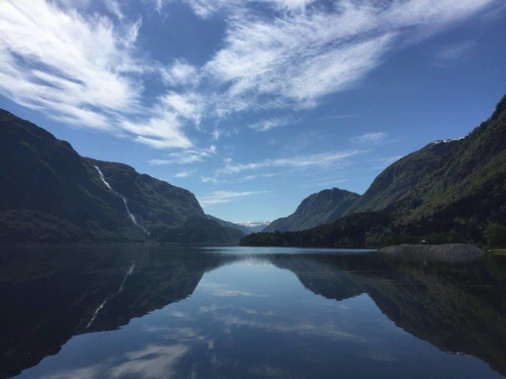 фьорды норвегия