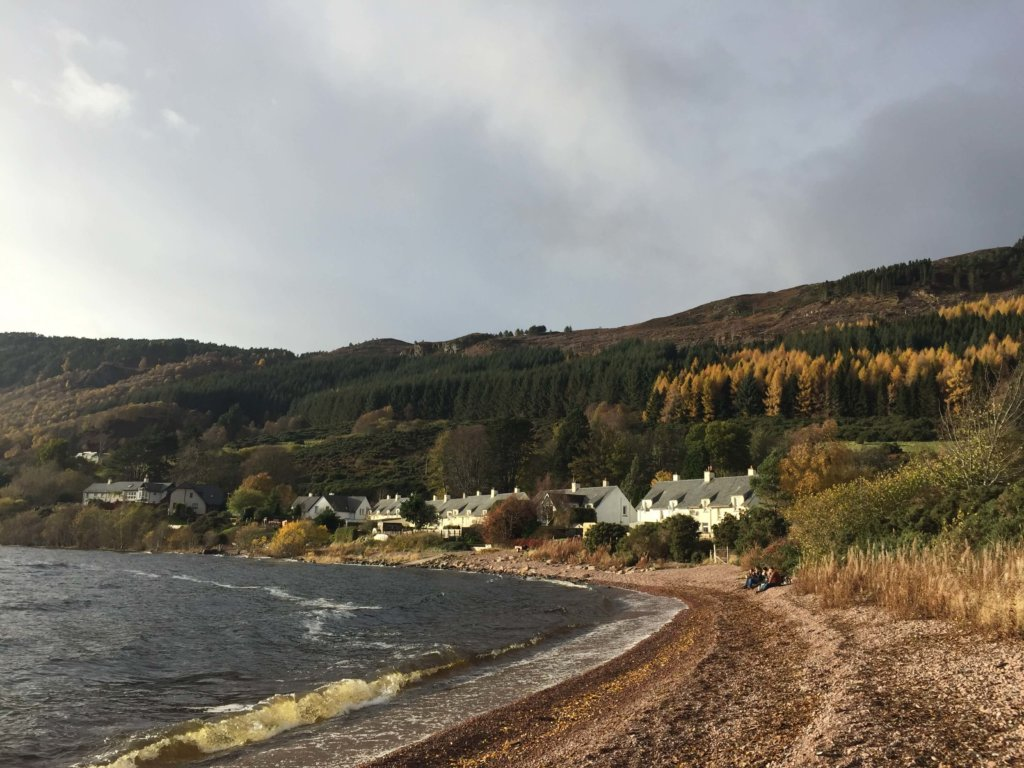 озеро лохнесс шотландия