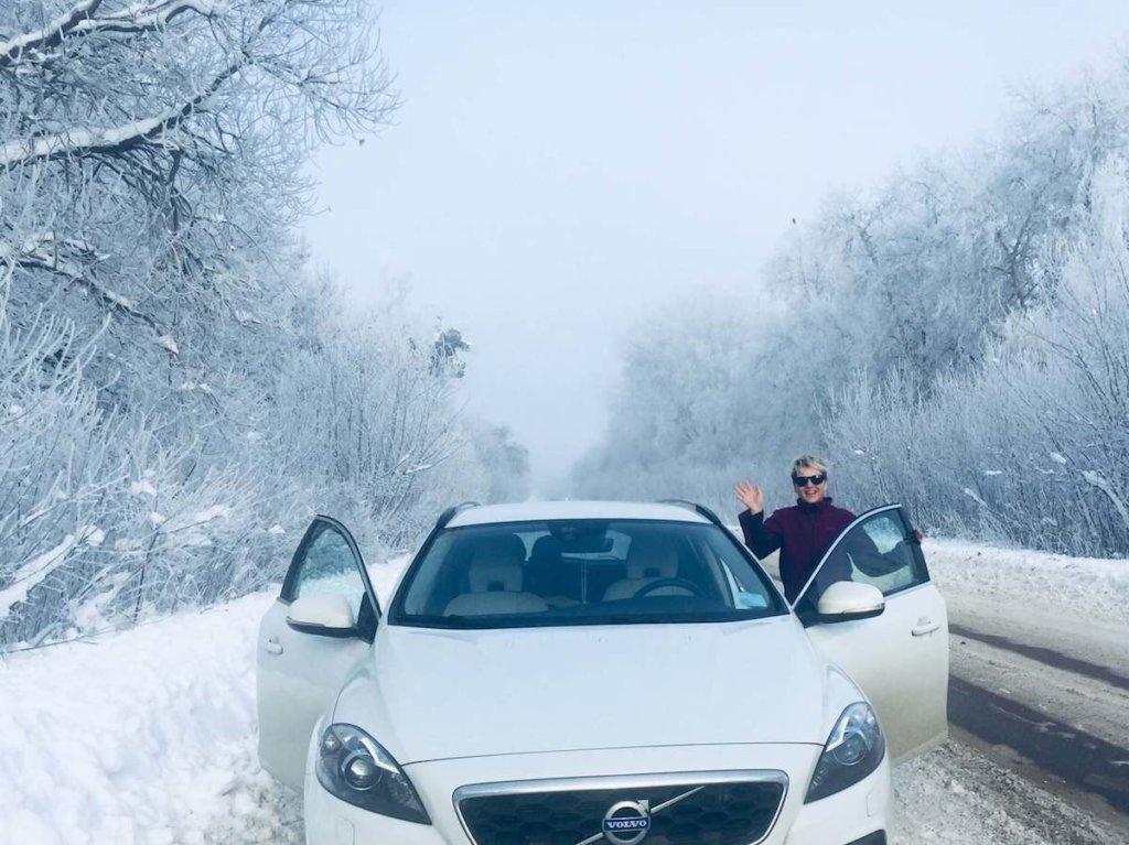 зимняя дорога фото