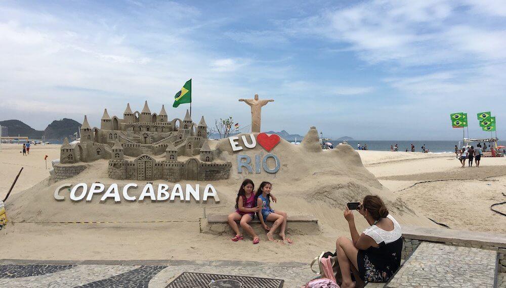 Рио-де-Жанейро. Копакабана, Ипанема и Сахарная Голова.