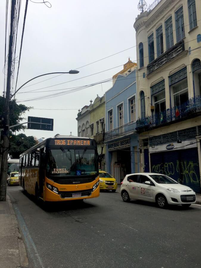 общественный транспорт Рио