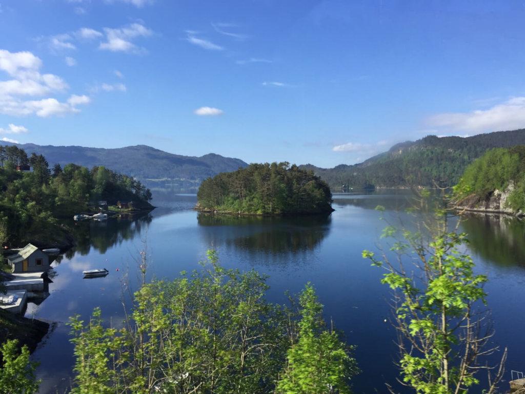 природа норвегии фото
