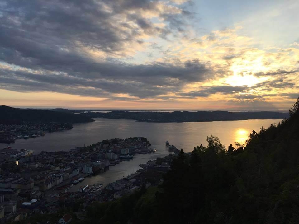берген норвегия фото
