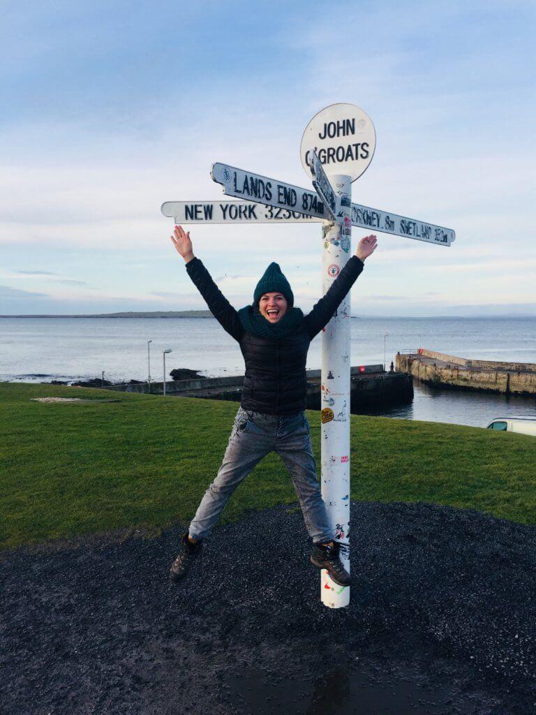 john o'groats sign