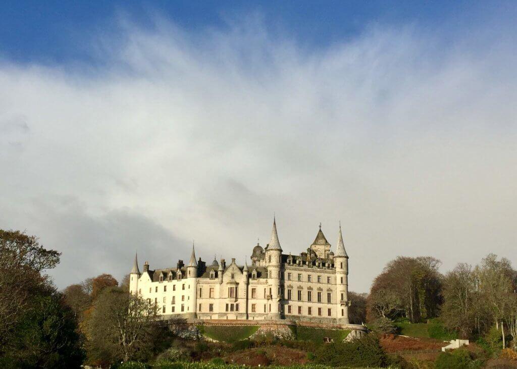 замки шотландии фото