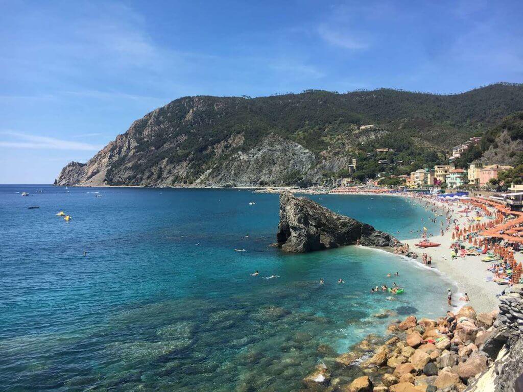 чинкве терре пляжный отдых италия