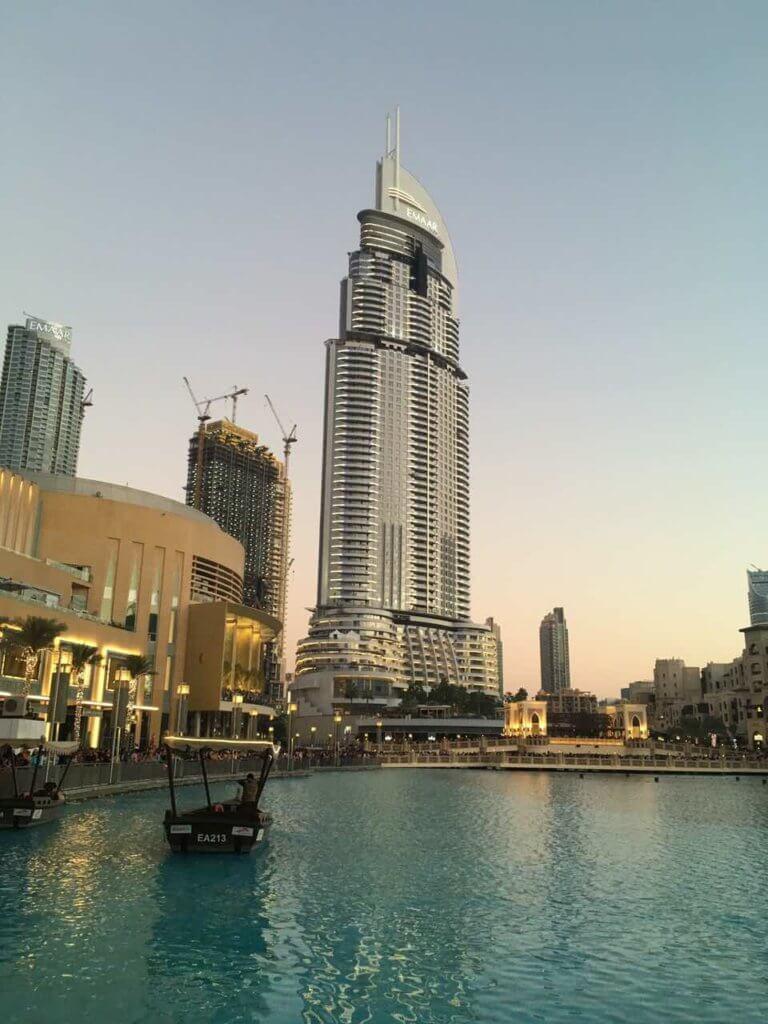 Дубай отели 2018