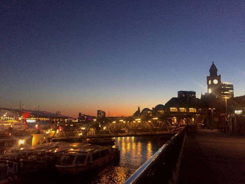 гамбург ночью