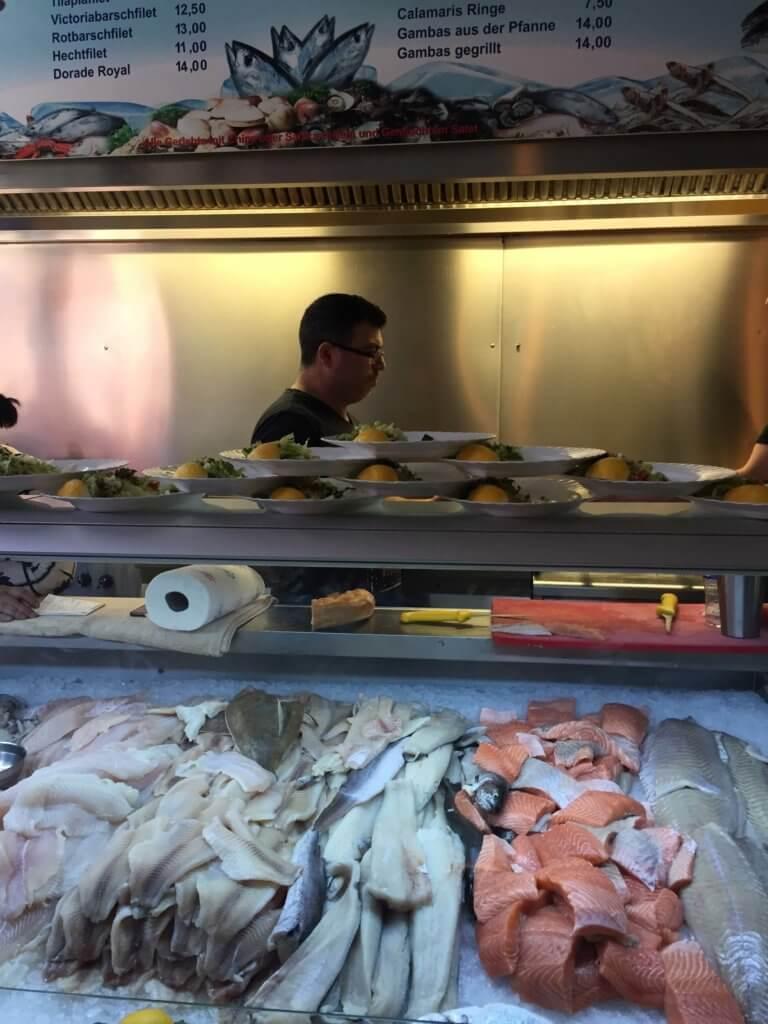 рыбные закусочные гамбург