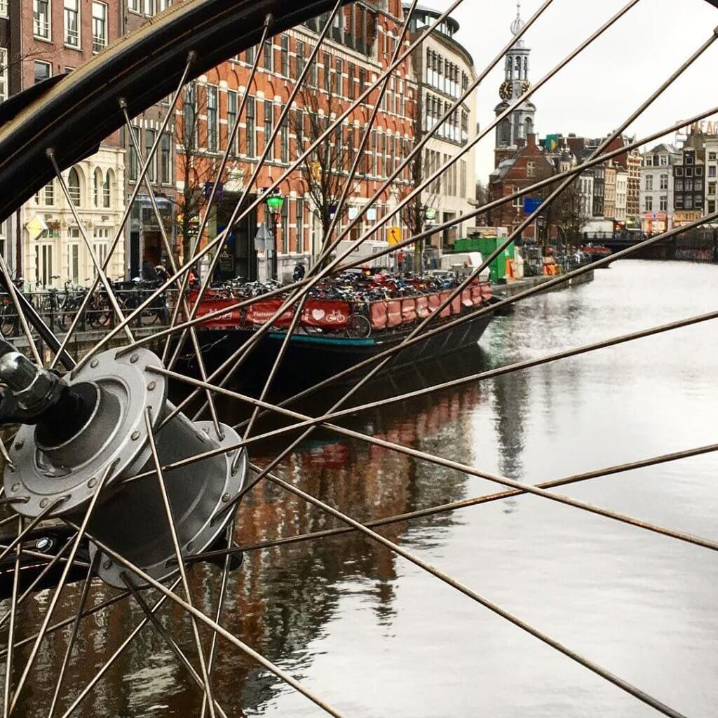 прокат велосипедов амстердам