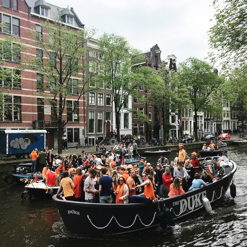 аренда лодки амстердам