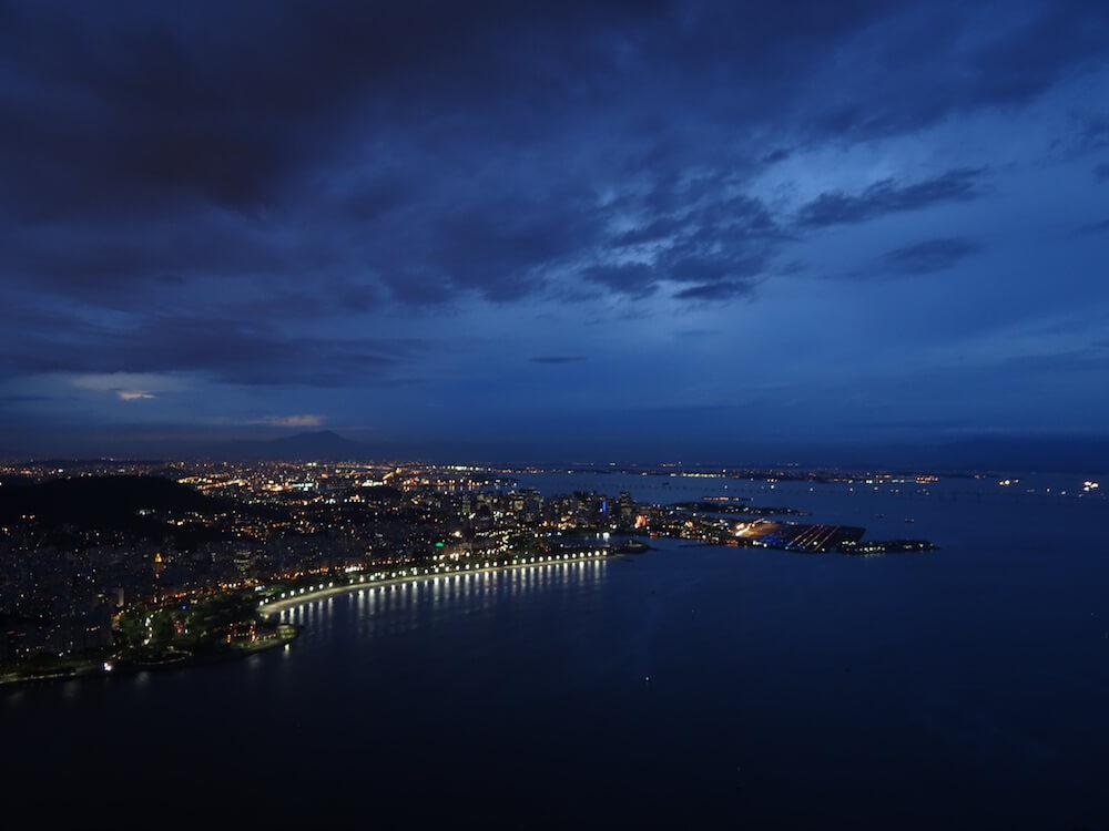 Рио вечером фото