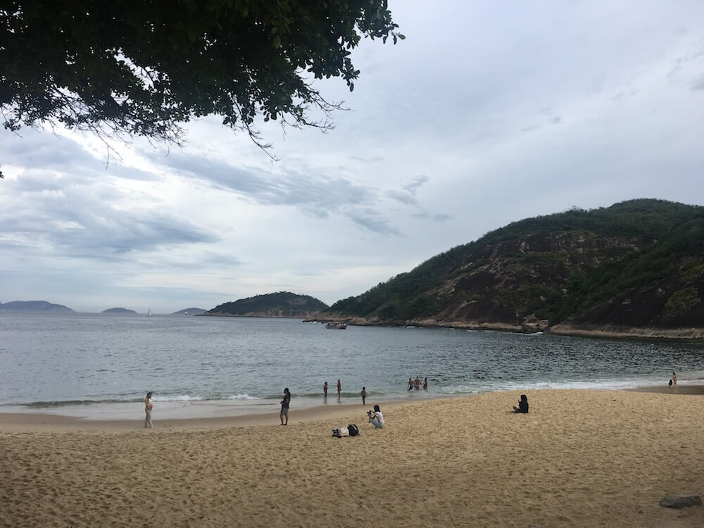 пляж вермелья Рио