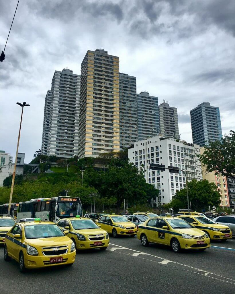 такси в рио