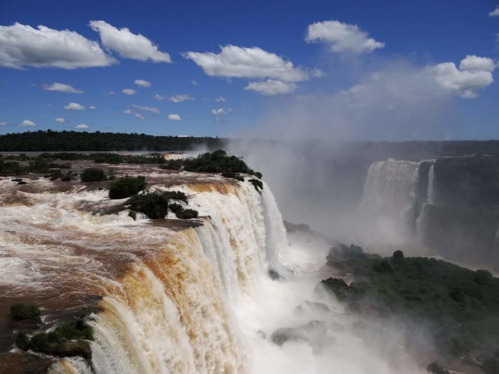 водопады игуассу