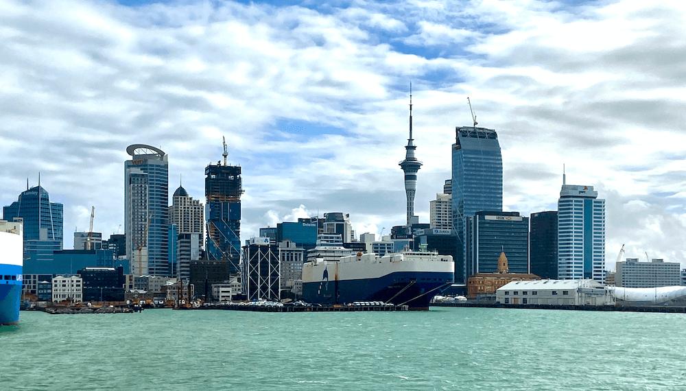 Окленд – город парусов