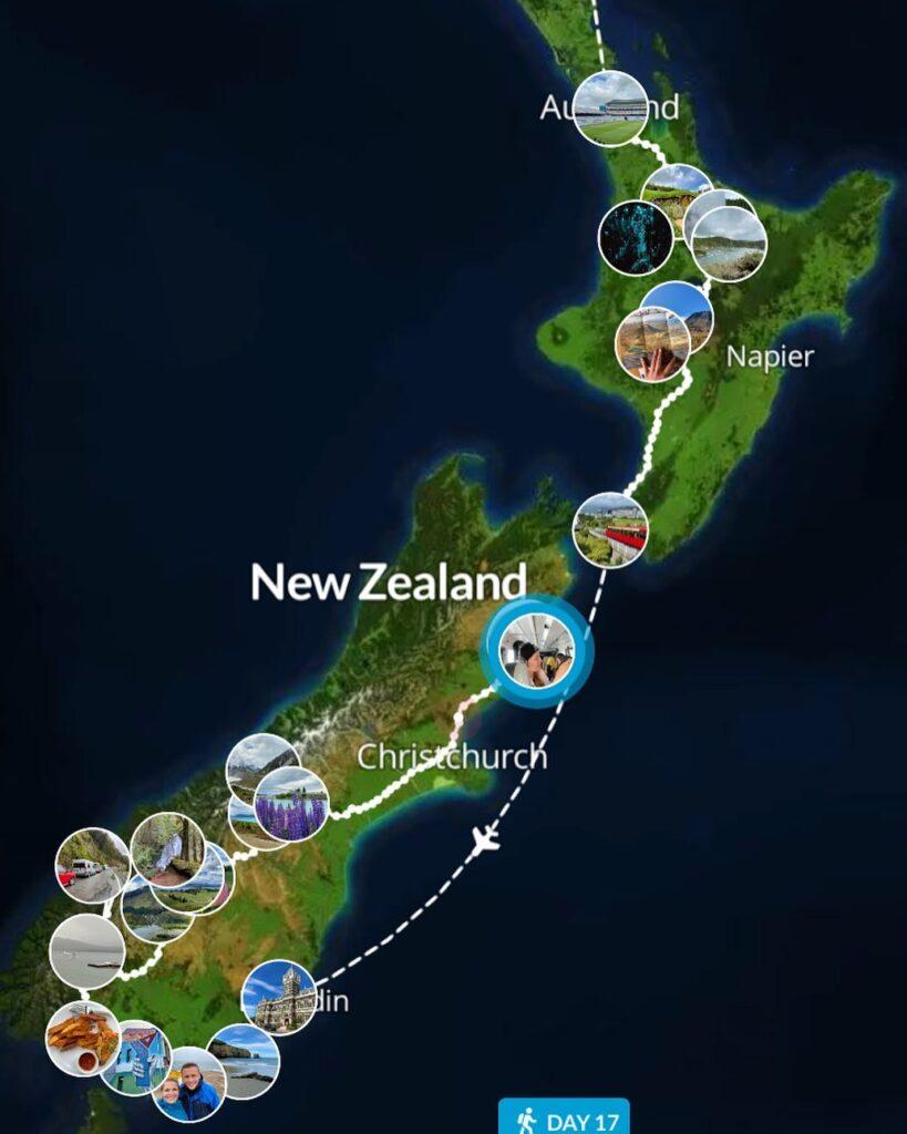маршрут новая зеландия
