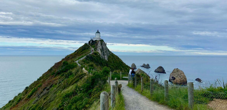 Новая Зеландия. Южный Остров. От Данидина до Инверкаргилл.